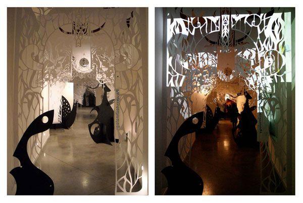 Uma instalação em Milão mostra o talento de dois jovens em interpretar sonhos, criando uma ambientação com um tom mágico e o mais interessante: constru&iac…