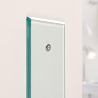 Simple, yet elegant, this glass finger plate from Jim Lawrence can make any door look stylish! www.jim-lawrence.co.uk