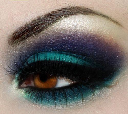 Make-up- beautiful use of tealBeautiful Makeup, Purple Makeup, Colors Combos, Eye Makeup, Dramatic Eye, Brown Eye, Videos Tutorials, Makeup Ideas, Eyemakeup