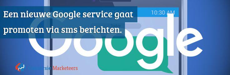 Een nieuwe Google service gaat promoten via sms berichten. Hoe ze dit gaan doen leest u nu op ons blog:  http://conversiemarketeers.nl/blog/online-adverteren/google-text-alerts/  #Google #text #alerts
