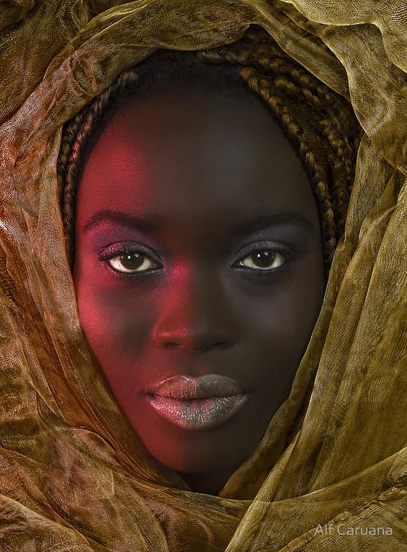 """Exotic Beauty"" by Alf Caruana"
