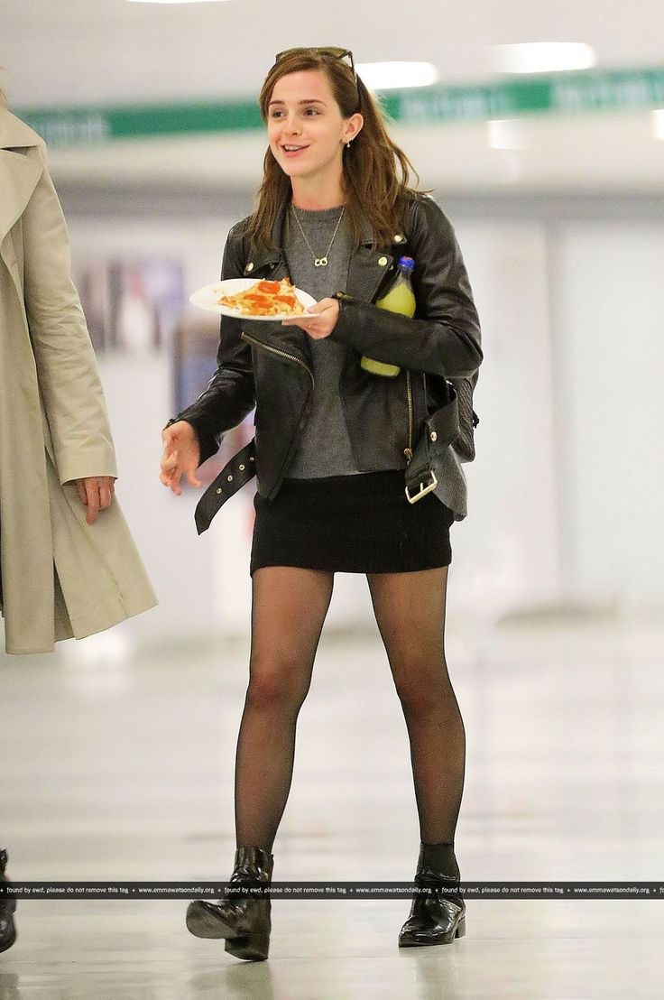 Emma Watson: EVERYONE loves pizza!