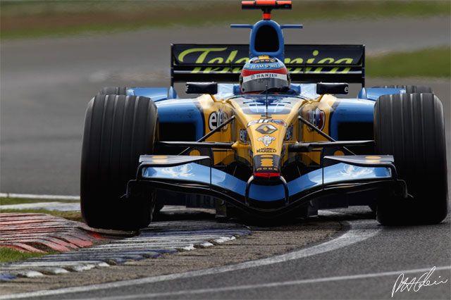 Fernando Alonso | 2005 British Grand Prix