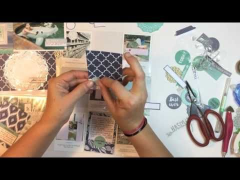 Process Video - Project Life Layout with Deb