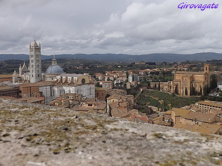 Siena | landascape from the top of Torre del Mangia