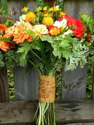 bouquet for a September wedding