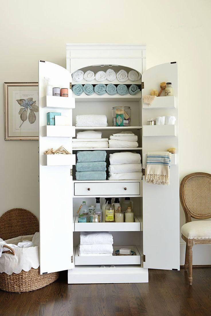 19 Bathroom Linen Closet Ideas In 2020