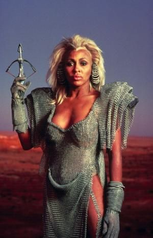 "Aunty Entity ""Tina Turner"" Mad Max Beyond Thunderdome (1985)"