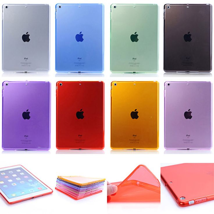 Ultrathin TPU case For iPad 2/3/4 tablet cover transparent shell for iPad 2 3 4 Slim back Protective case
