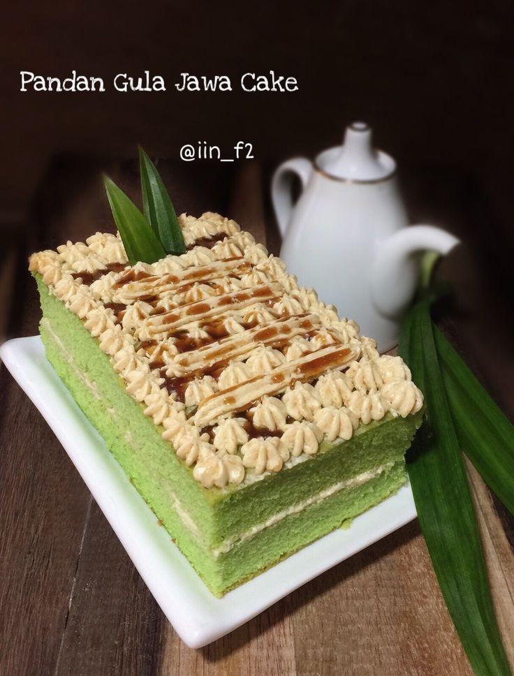 Pandan Gula Jawa Cake