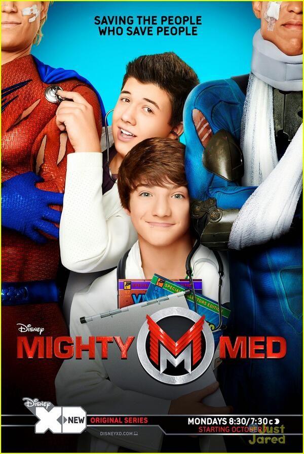 Mighty Med. #jakeshort #bradleystevenperry #soexcited