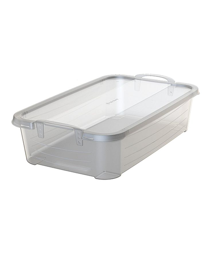 Take a look at this 34-Qt. Handled Stackable Storage Box - Set of Two today!
