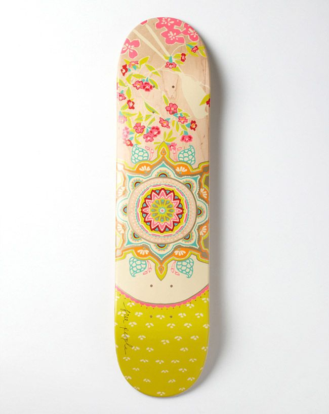 Poppytalk: Free People Limited Edition Skateboards