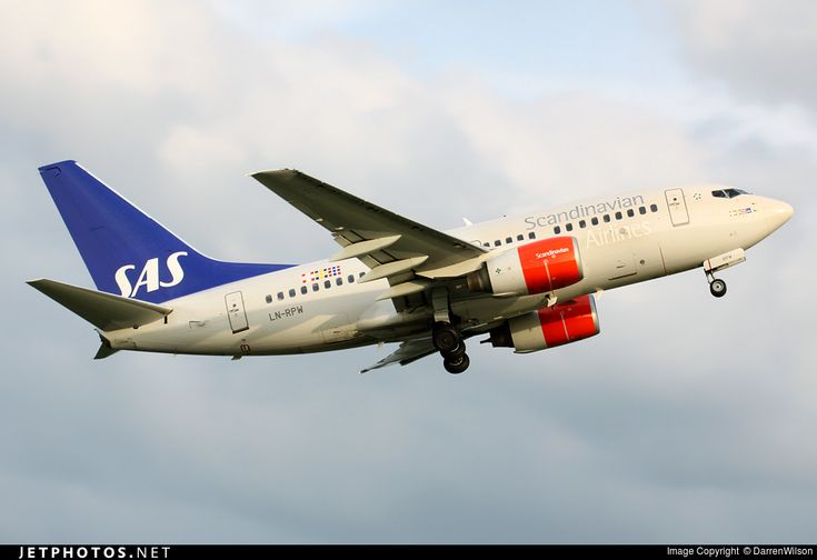 High quality photo of LN-RPW (CN: 28289) Scandinavian Airlines (SAS) Boeing 737-683