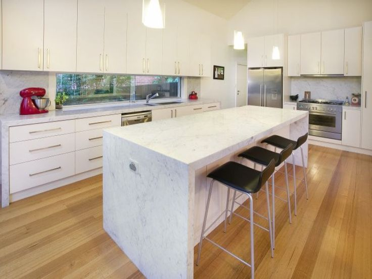 Modern kitchen designs with island bench