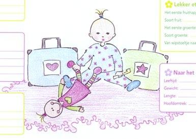 Illustratie voor tijdschrift Kinderen    door Debbi Verbakel