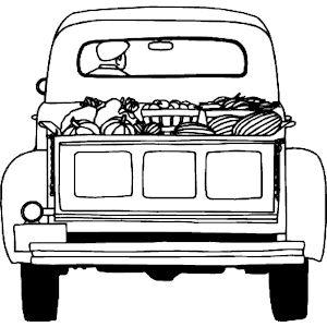 Free Truckload of Food SVG File | Cricut / SVG / Trucks ...