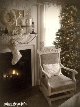 .i love the chair and the white decor