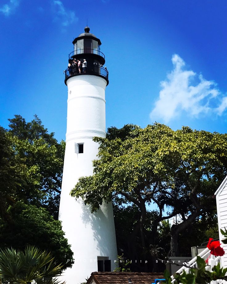 Located at 938 Whitehead Street, the fully restored Key West Lighthouse and Keeper's Quarters remains a historic landmark on the island. Height 22 m