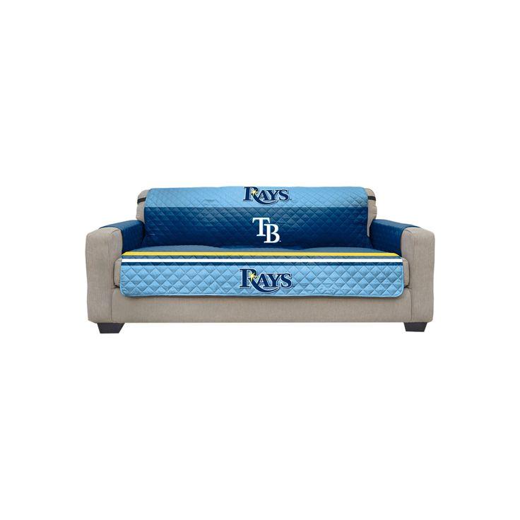 MLB Tampa Bay Rays Sofa Slipcover