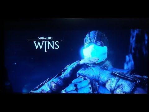 Oyunlar_TheGames: Mortal Kombat--Sub Zero Wins