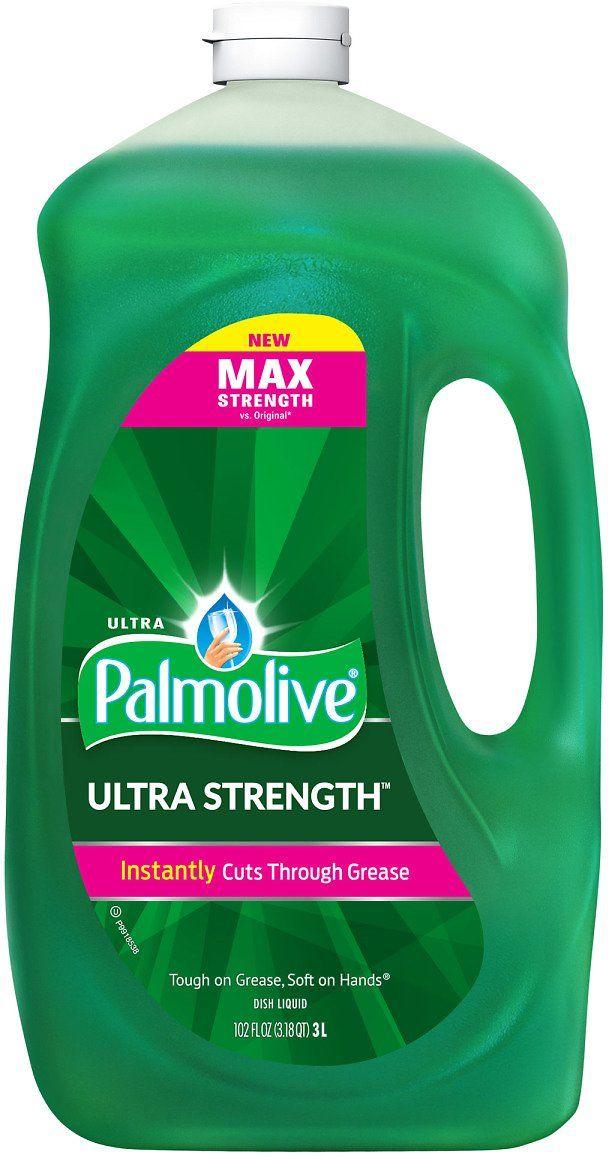 Palmolive Ultra Strength Liquid Dish Soap 102 Fl Oz Costco