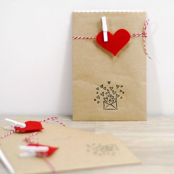 Zarf, sevgi mesajları