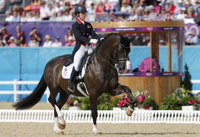 Click the pic to watch Charlotte Dujardin's gold medal ride | Velvet Rider