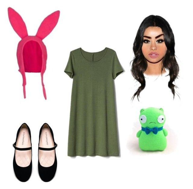 """Aug 29 ( Louise bob's burger)"" by rileysobadd ❤ liked on Polyvore featuring Gap and City Classified"