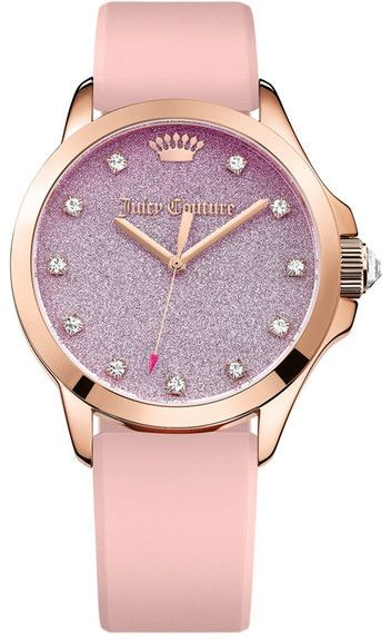 Juicy Couture Women's Jetsetter Crystal Casual Watch