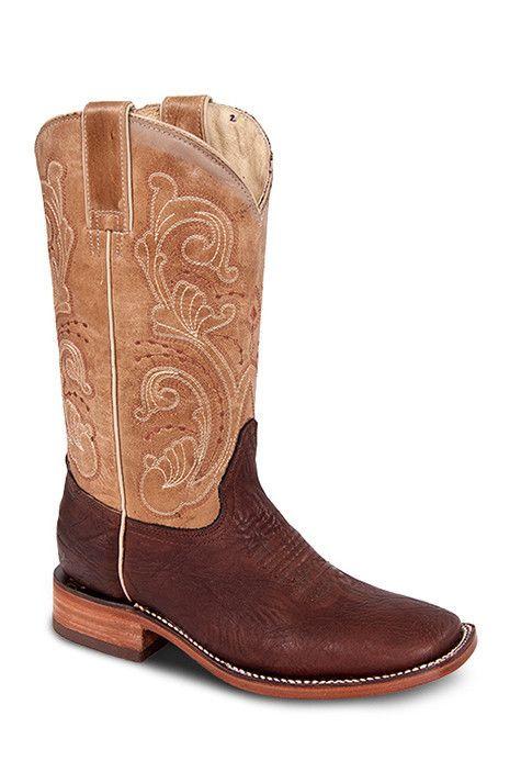 Redhawk Women's Rodeo Boots - 5146 Chocolate