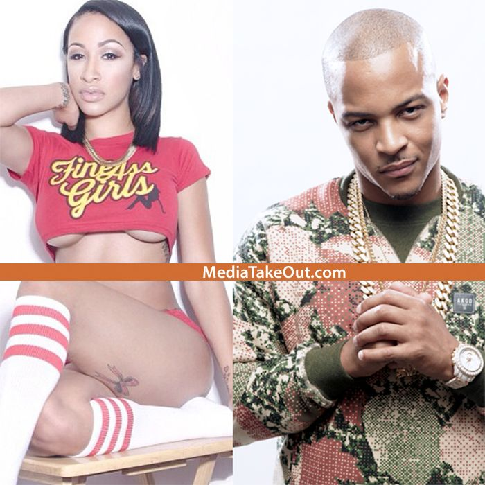 EXTREME HOMEWRECKING!!! You Remember That Instagram THOT-EL That Was Rapper TI's MISTRESS . . . Well She Just BROKE UP Another Marriage . . . NBA Baller Glen 'BIG BABY' Davis'!!!