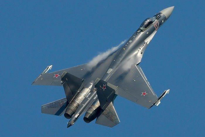 Су-35С - российский истребитель поколения
