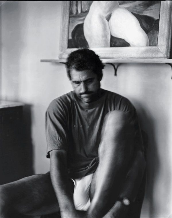 An image of Mann's husband, a lawyer and a farmer, circa 2003. Known for intimate portraits of her family, taken in the town in Virginia where she has lived for three decades, Mann shot this portrait as part of an ongoing series, ''Marital Trust.'' Credit Sally Mann, courtesy of the Gagosian Gallery