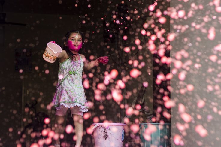 Holi celebrations by Naveen Gowtham on 500px