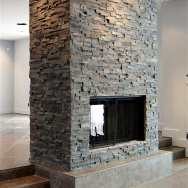 24 best fireplace images on pinterest for Through fireplace