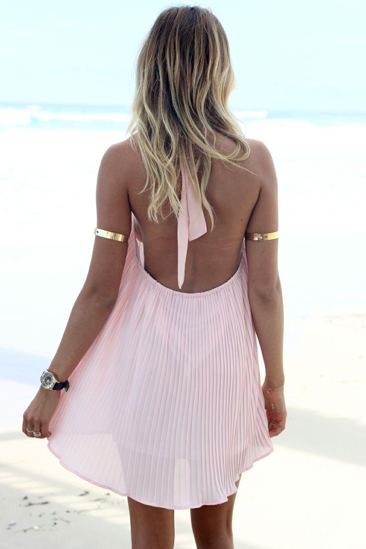 SABO SKIRT Porsha Halter Dress - www.saboskirt.com