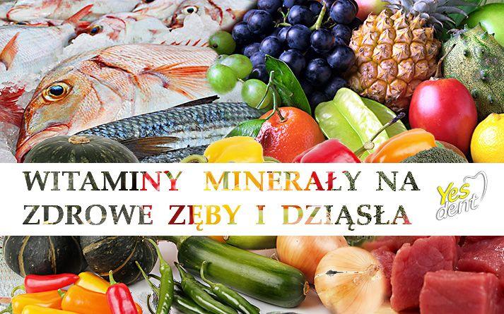 #Stomatolog - #witaminy na zdrowe #zęby. http://yesdent.pl/witaminy-mineraly-na-zdrowe-zeby-i-dziasla/ #yesdent #stomatologwrocław #dentystawrocław #dentysta