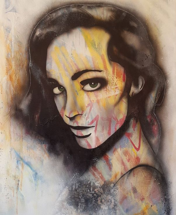 Buy Loren, Spray-paint painting by adam craemer on Artfinder. Discover thousands of other original paintings, prints, sculptures and photography from independent artists.