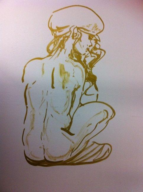 Naked lady.