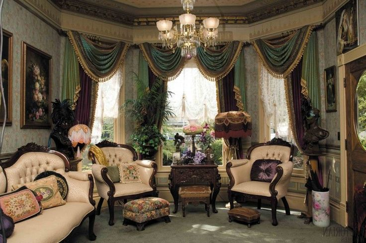 Victorian Living Room Curtain Ideas U2013 Victorian Style | Curtain | Pinterest  | Victorian Living Room, Living Room Curtains And Curtain Ideas Part 53