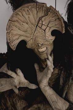 Close-up of The Angel of Death in Hellboy: The Golden Army.