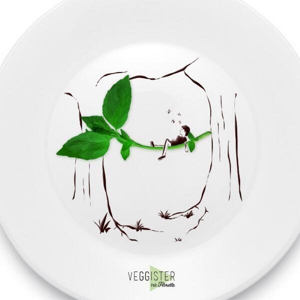 Aujourd'hui, on profite d'un coin de verdure pour se prélasser. Et vous, qu'avez-vous prévu? #Veggister #FoodArt