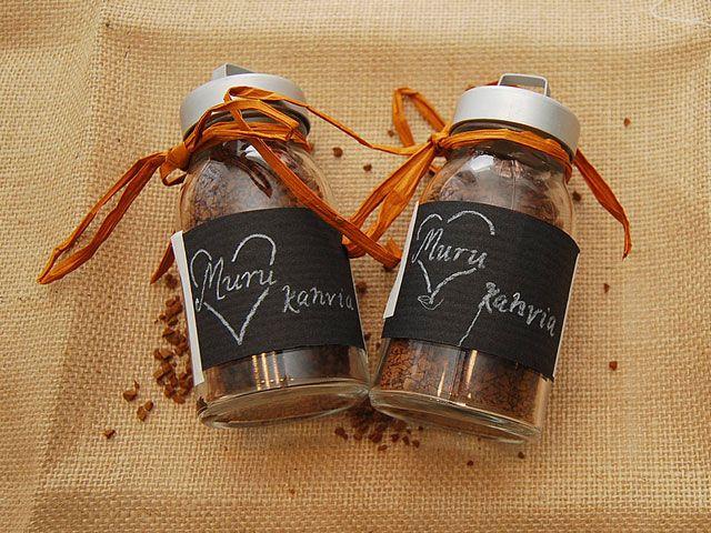 Humua -kaikkien juhlien ideapankki » DIY- Kahvivieraslahja