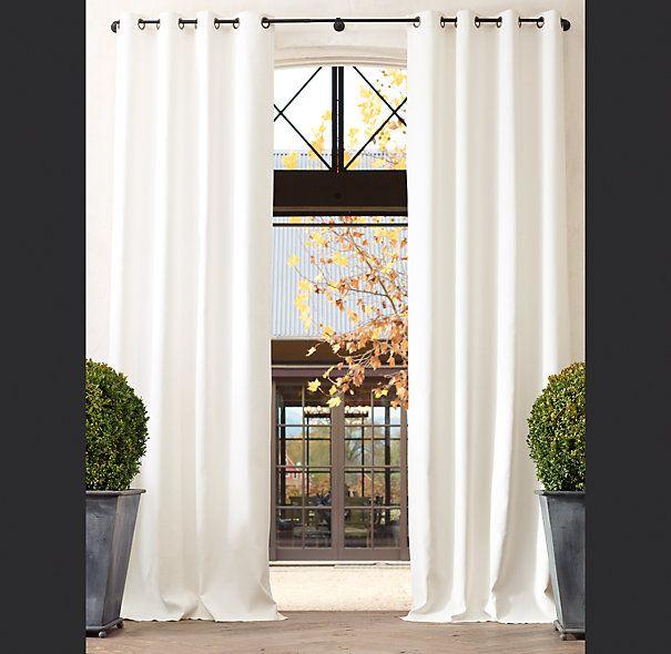 White drapes #sarahrichardson