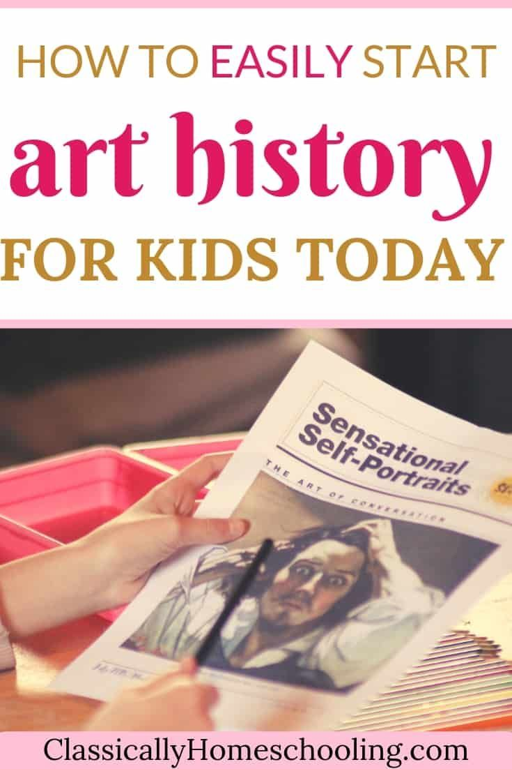 The right way to Simply Begin Artwork Historical past for Youngsters