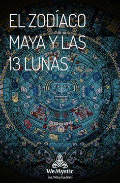 Los Mayas diseñaron un amplio sistema de calendarios, que eran utilizados de acuerdo a la ocasión. Uno de ellos, establecía que el orden del tiempo es de 13 Lunas.