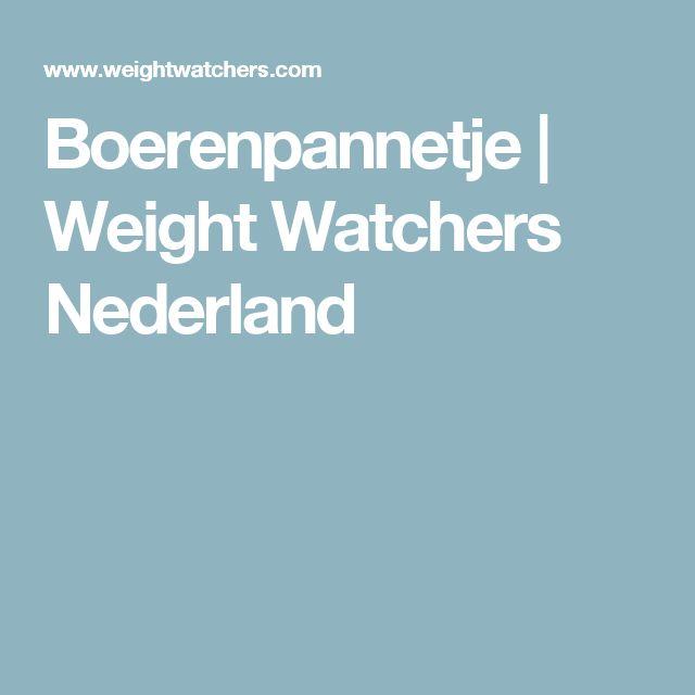 Boerenpannetje | Weight Watchers Nederland
