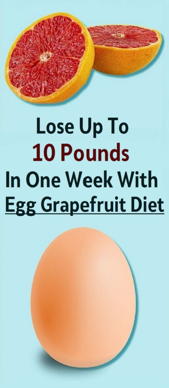 Grapefruit Diet Plan To Lose 12 Pounds In 10 Days