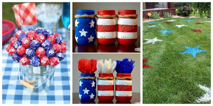 Best 4th of July Party Ideas - Games & DIY Decor for a Fourth of July Cookout